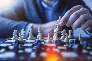 Chess strategy parallels with sales